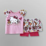 Hello Kitty Infant Girl's Top & Scooter Skirt - Floral at Sears.com