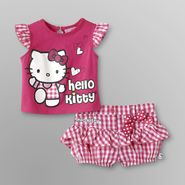 Hello Kitty Infant Girl's Top & Shorts at Sears.com
