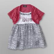 Baby Glam Infant Girl's Dress & Shrug at Sears.com
