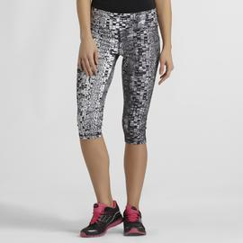 Sofia by Sofia Vergara Women's Cropped Leggings - Snakeskin Print at Kmart.com