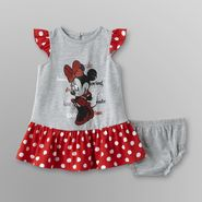Disney Minnie Mouse Infant Girl's Dress & Diaper Cover at Sears.com