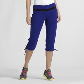 Sofia by Sofia Vergara Women's Capri Sweatpants - Colorblock at Kmart.com