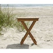 Country Living Folding Side Table - Natural at Sears.com