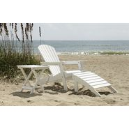 Country Living Adirondack Chair, Ottoman, & Side Table Bundle - White at Kmart.com
