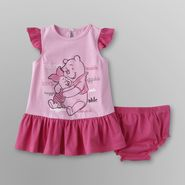 Disney Winnie the Pooh Infant Girl's Dress & Diaper Cover at Sears.com