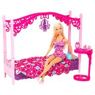 Barbie GLAM BEDROOM FURNITURE at Sears.com