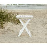 Country Living Folding Side Table - White at Sears.com