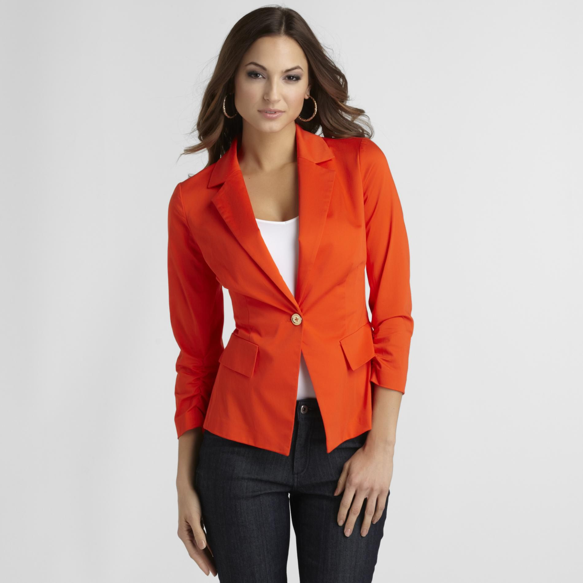 Sofia by Sofia Vergara Women's Fitted Blazer