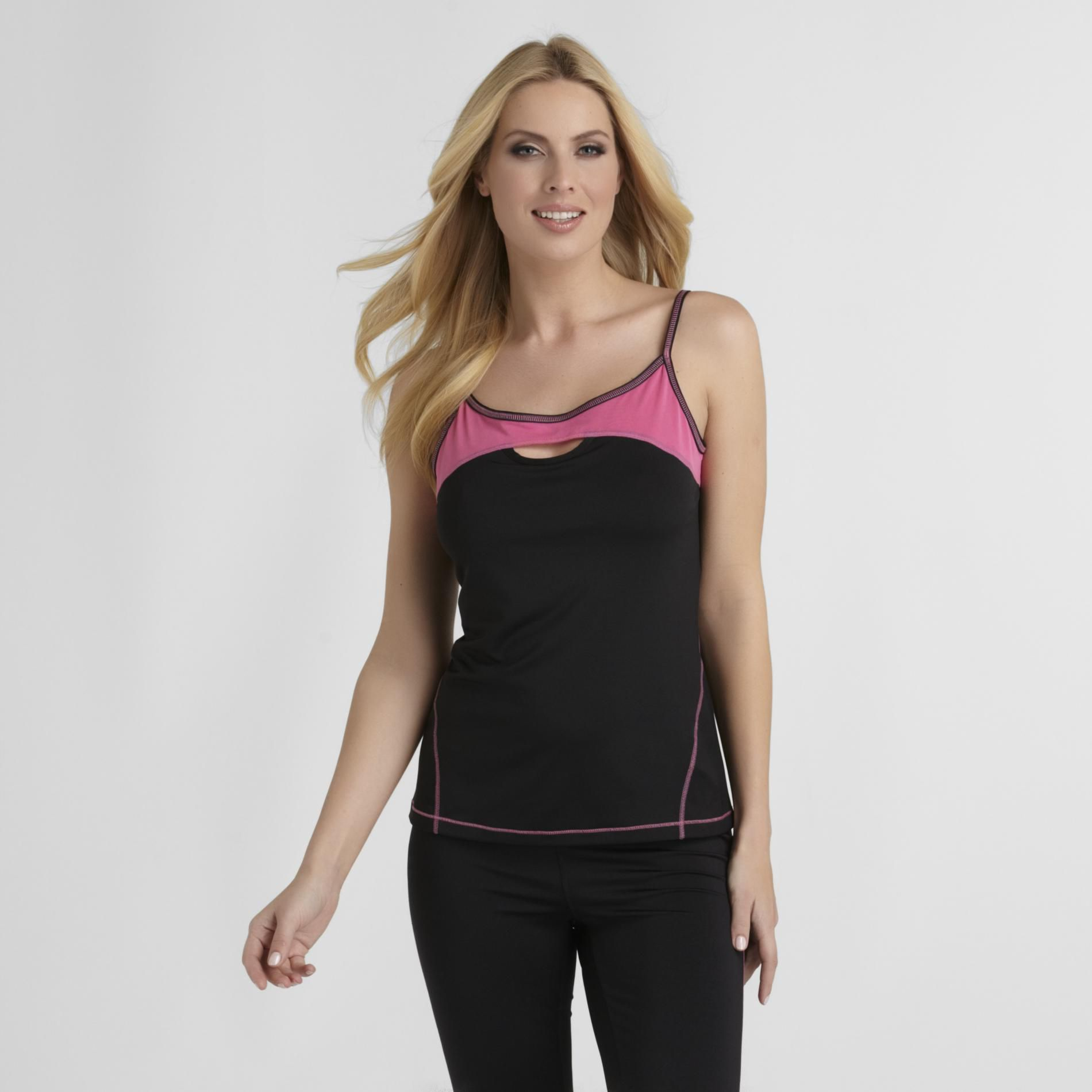 Women's Workout Top - Colorblock
