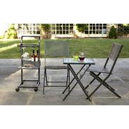 Garden Oasis 4pc Folding Bar Cart Bistro Set at Kmart.com