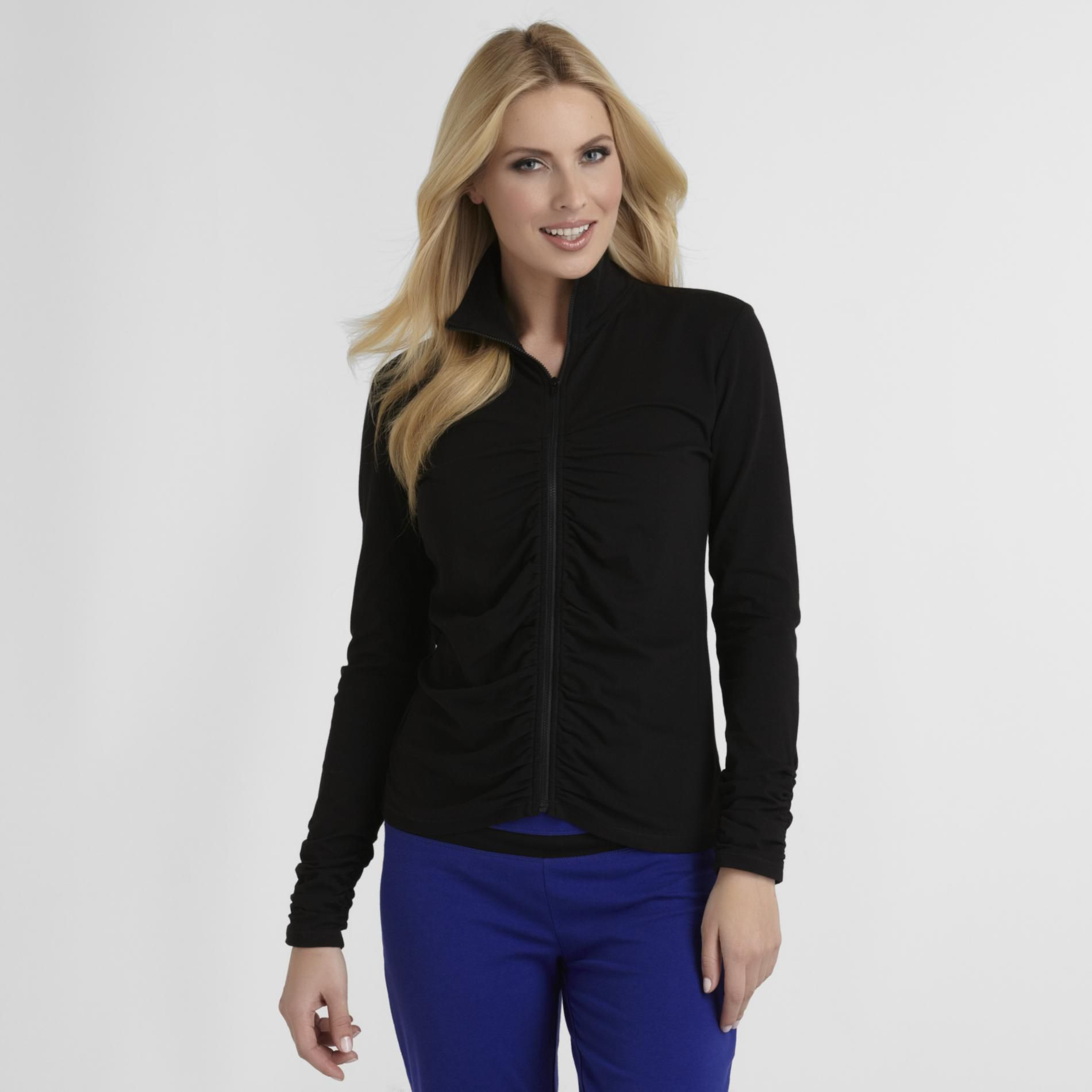 Women's Ruched Track Jacket