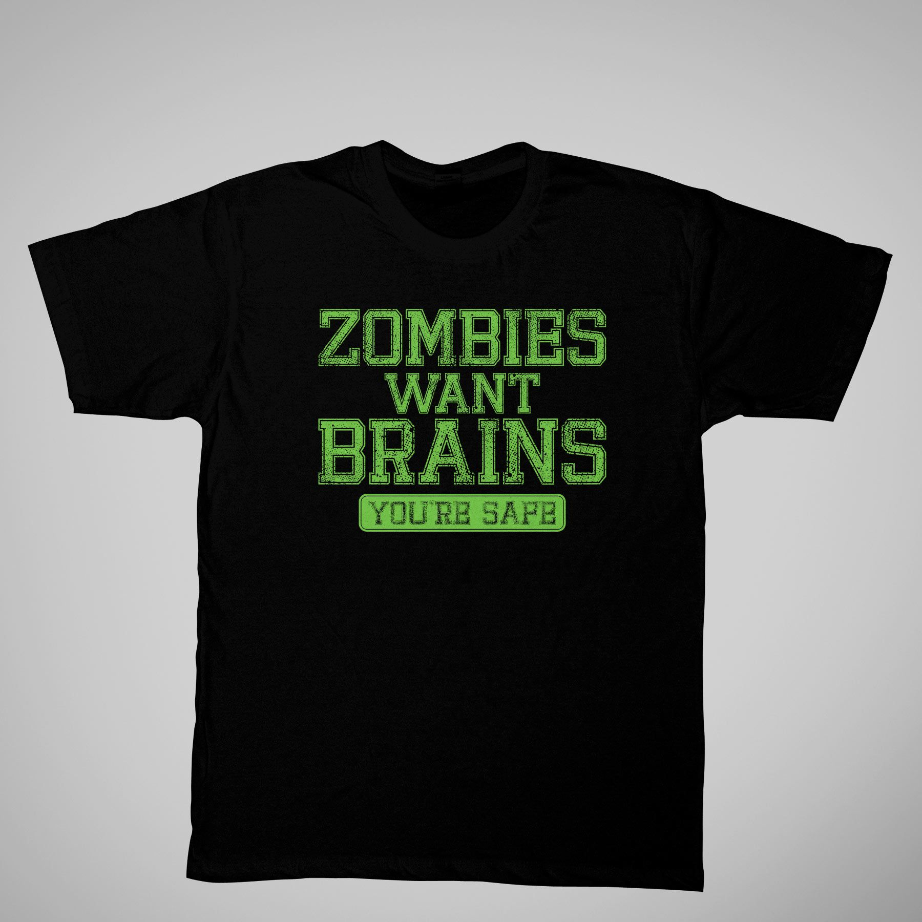 Men's Graphic Tee 'Zombies' Short Sleeve at Kmart.com