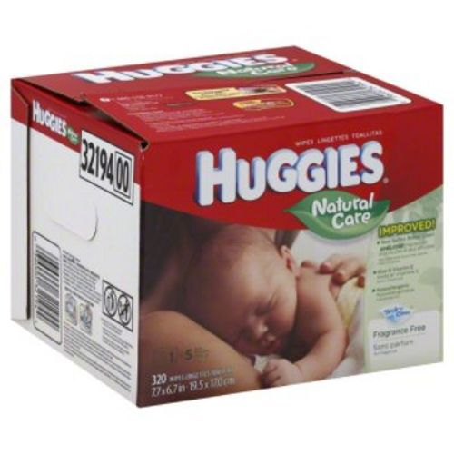Huggies  Natural Care Baby Wipe Refill