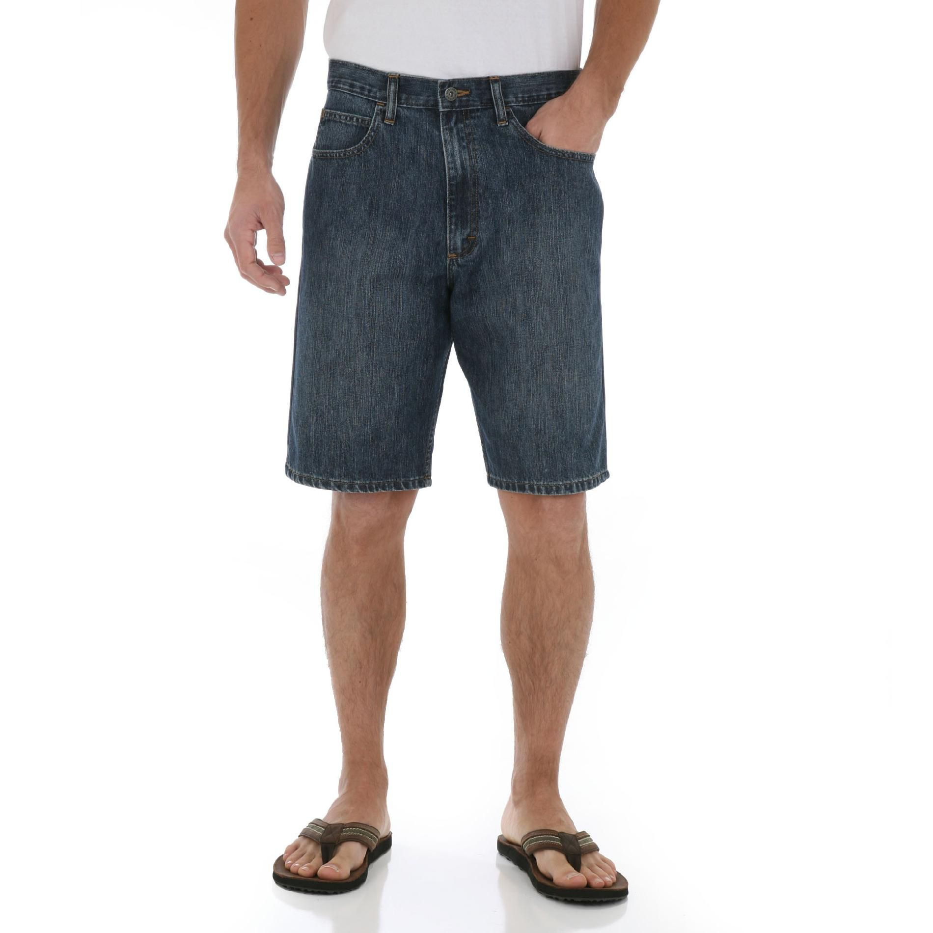 Wrangler Men's Loose Fit Denim Shorts at Kmart.com