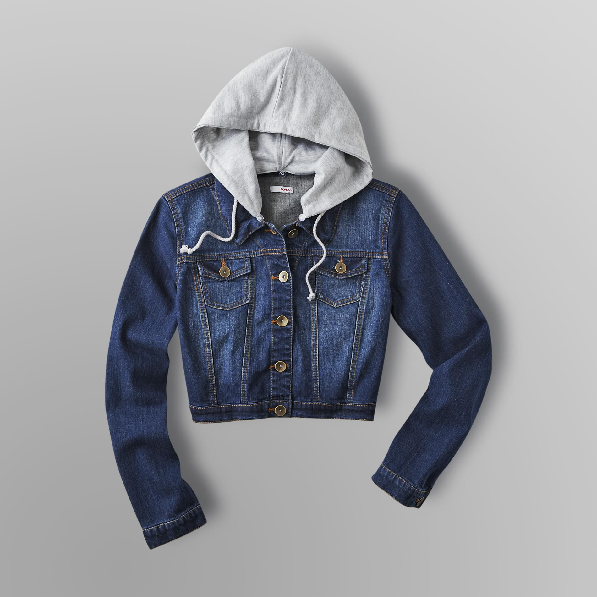 Bongo Junior's Cropped Denim Jacket at Sears.com