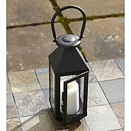 Garden Oasis 24in Black Lantern at Kmart.com