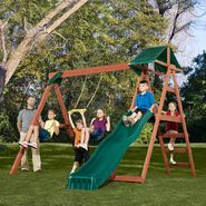 Swing-N-Slide McKinley Wood Complete Play Set at Sears.com