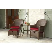 Garden Oasis Twain 5pc Seating Set - Brown at Kmart.com