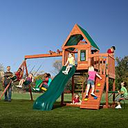Swing-N-Slide Willows Peak Wood Complete Play Set at Sears.com