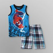 Marvel Spider-Man Toddler Boy's Muscle Shirt & Shorts at Sears.com
