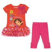 Nickelodeon Infant & Toddler Girl's 2 Pc Dora the Explorer Legging Set at Sears.com