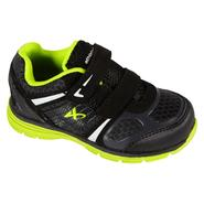 Athletech Toddler Boy's Sneaker Ath L-Hawk 2 - Black/Lime - Every Day Great Price at Kmart.com