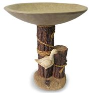 Seagull Pier Birdbath at Sears.com
