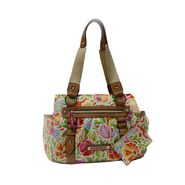 Lily Bloom Women's 'Garden' Triple Section Satchel Handbag at Sears.com