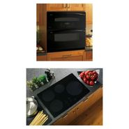 GE GE Profile Electric Single Wall Oven with matching ...