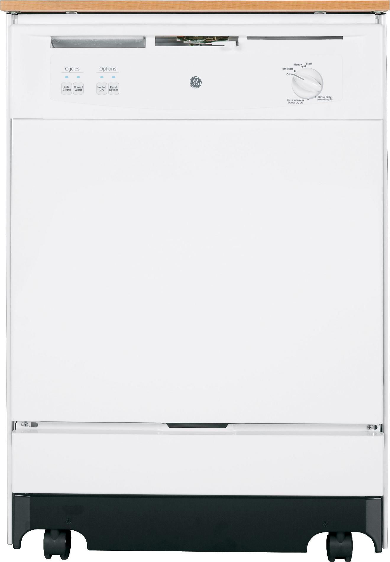 GE  24'' Portable Dishwasher - White  ENERGY STAR®