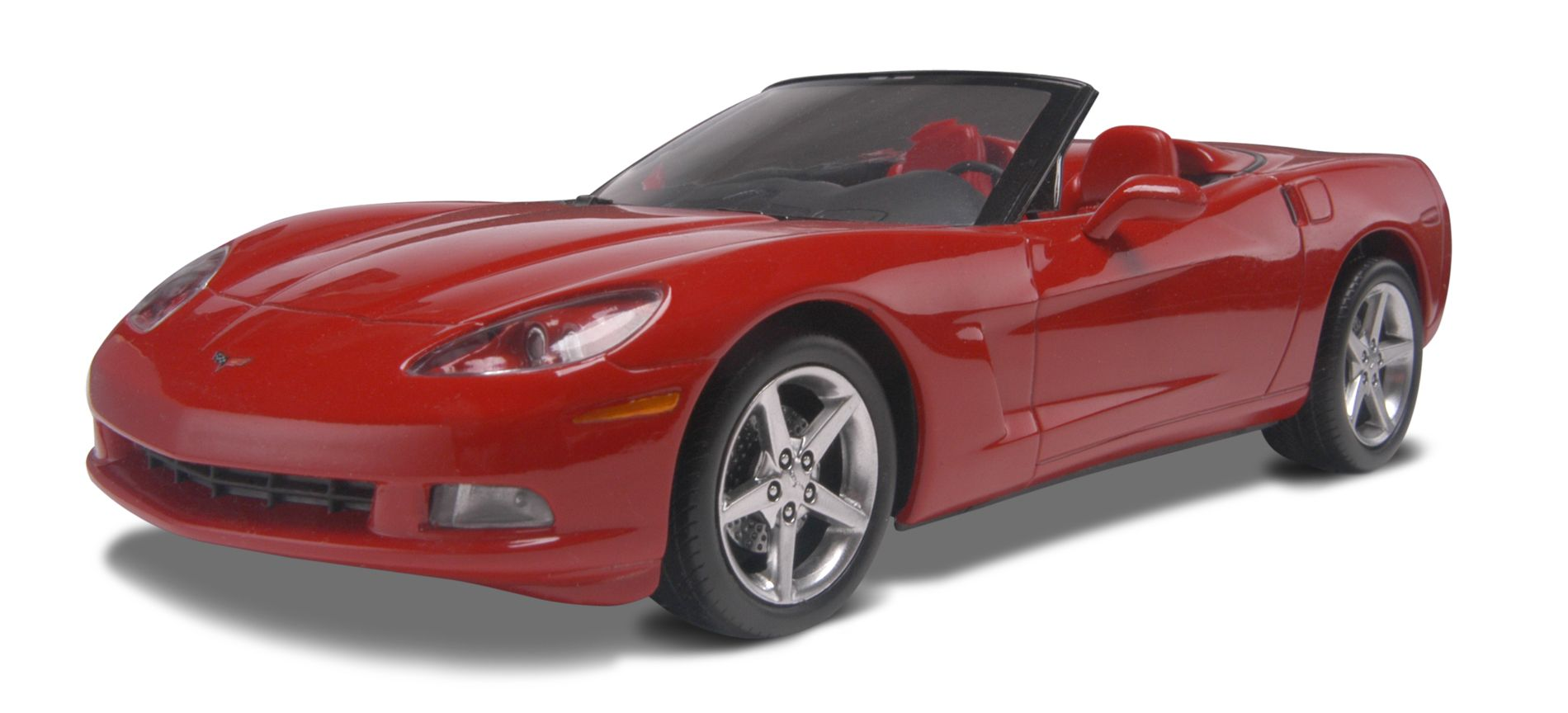 Hot Wheels 1 25 05 Corvette Convertible Plastic Model Kit