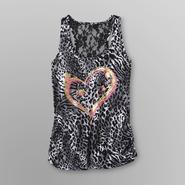 Joe by Joe Boxer Women's Lace Racerback Tank Top - Animal Print at Kmart.com