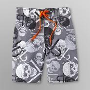 Joe Boxer Boy's Swim Trunks - Skull at Sears.com