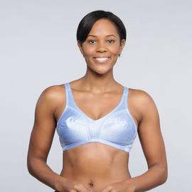 Pink K Women's Embossed Full Coverage Tricot Bra - 5358 at Kmart.com