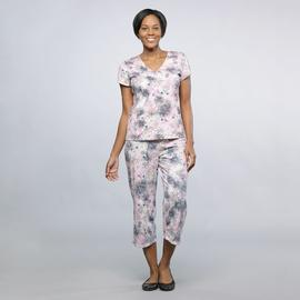 Jaclyn Smith Women's 2 Pc Capri Pajama Set at Kmart.com