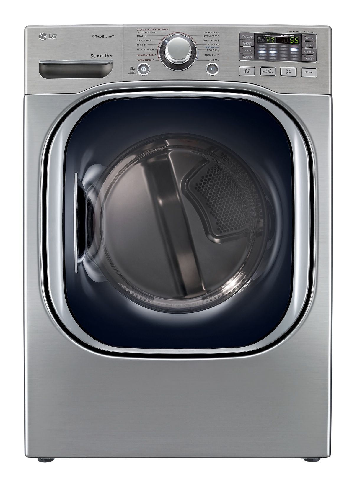 7.4 cu. ft. Steam Electric Dryer - Graphite