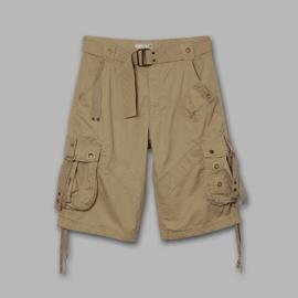 Route 66 Men's Belted Multi Pocket Hiking Shorts at Kmart.com