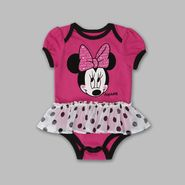 Disney Girl's Newborn & Infant 'Minnie Mouse' Tutu Romper at Kmart.com