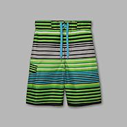 Joe Boxer Boy's Multi Stripe Print Swim Shorts at Kmart.com