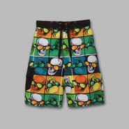 Joe Boxer Boy's Skull Sunglasses Print Swim Shorts at Kmart.com