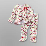 Welcome to the World Infant Girl's Wrap Pajamas - Cherries at Kmart.com
