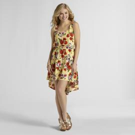 Metaphor Women's Sleeveless High-Low Dress - Floral at Sears.com