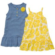 Carter's Newborn & Infant Girl's 2 Pc Striped Flower Dress Set at Sears.com