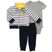 Carter's Newborn & Infant Boy's 3 Pc Striped Boat Cardigan Set at Sears.com