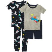 Carter's Infant & Toddler Boy's 4 Pc Spaceship Print Pajama Set at Sears.com