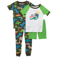 Carter's Infant & Toddler Boy's 4 Pc Dinosaur Print Pajama Set at Sears.com