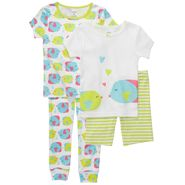 Carter's Infant & Toddler Girl's 4 Pc Fish Print Pajama Set at Sears.com