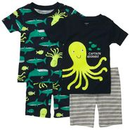 Carter's Infant & Toddler Boy's 4 Pc 'Fish' Print Set at Sears.com