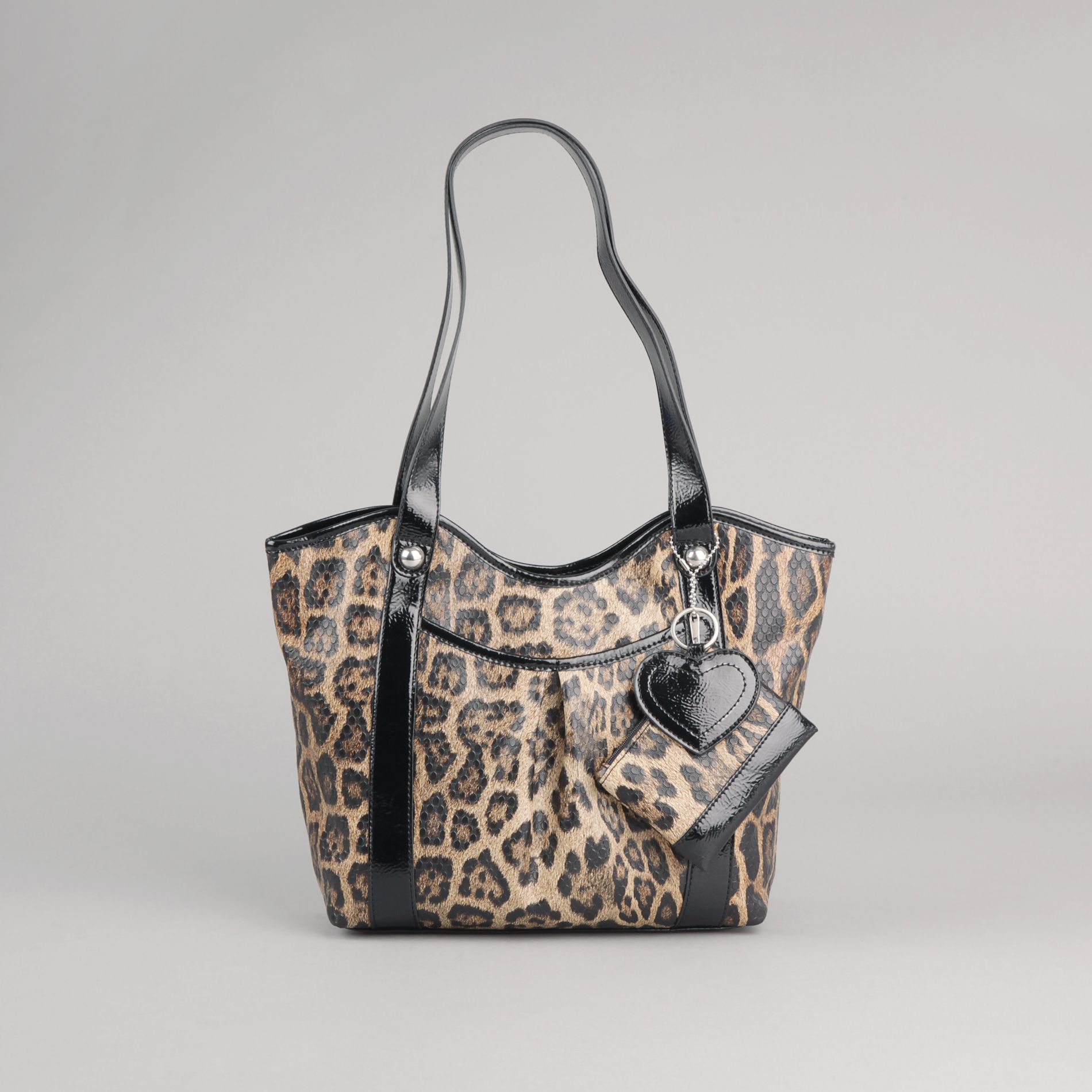 Attention Women s Leopard Handbag