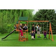 New Timber Play II With Balcony Swing Set at Kmart.com